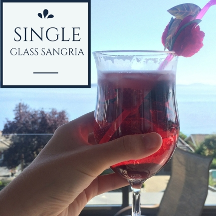 Single Glass Sangria