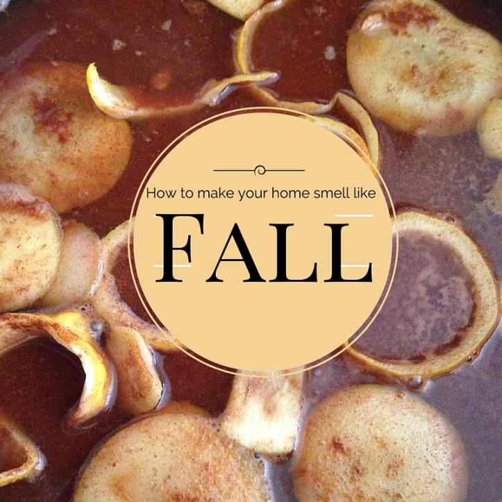 Make your house smel like Cozy Fall!