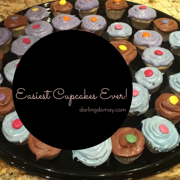 Easiest Cupcakes Ever!
