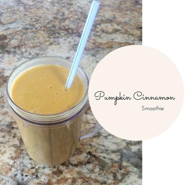 Pumpkin Cinnamon Smoothie