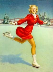 Vintage-Xmas-Pin-up-girls-2